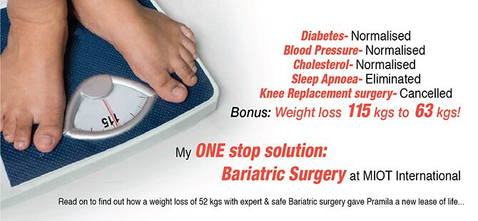The ONE stop solution to all my problems: Bariatric Surgery at MIOT International