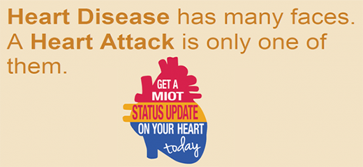 Get a MIOT Status update on your heart today
