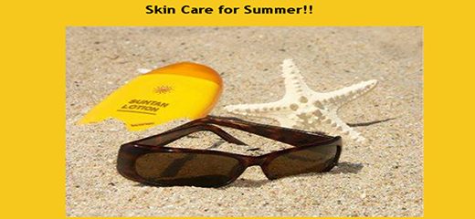 With summer round the corner, Tips to take care for your Skin!